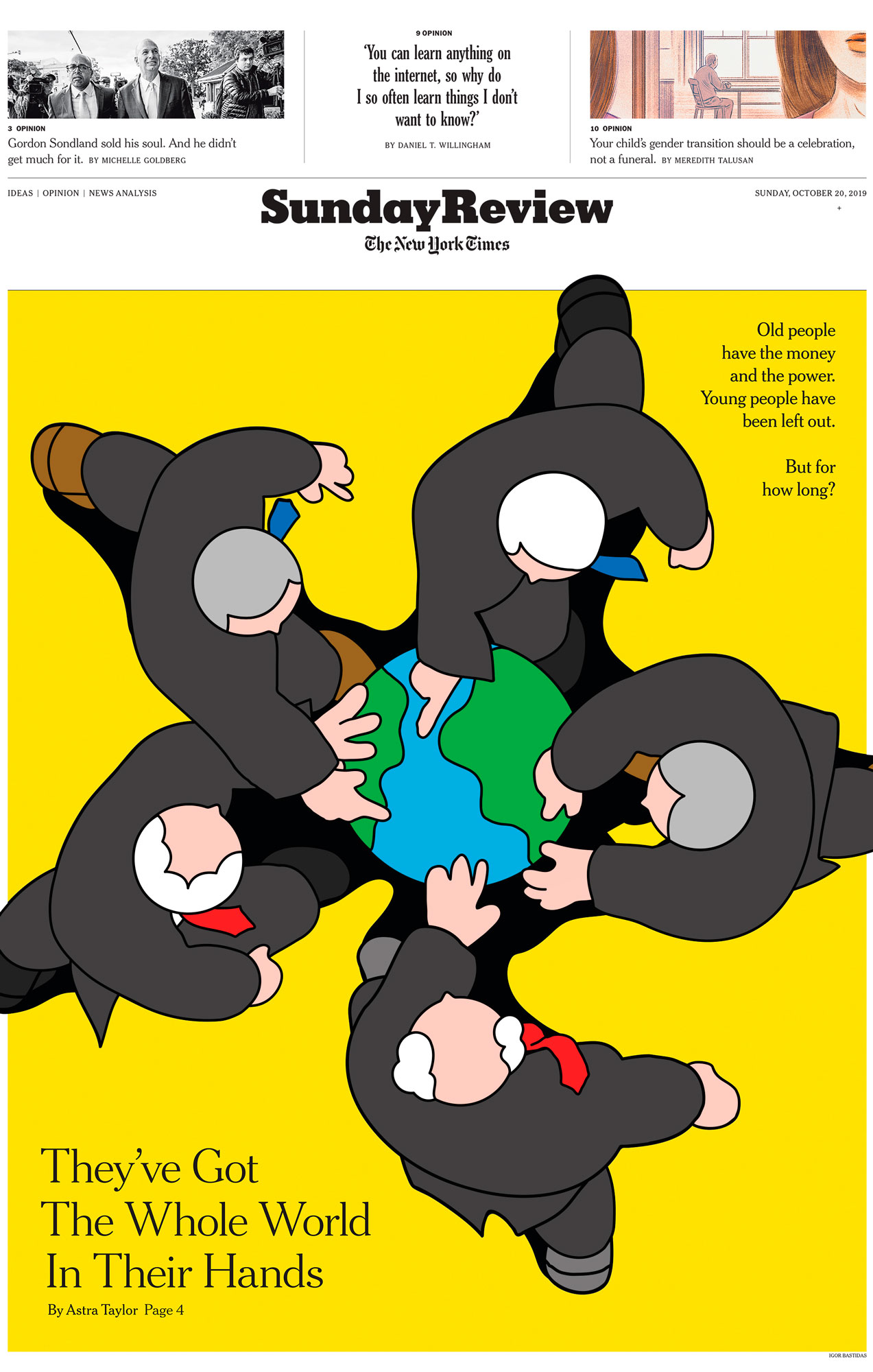 The New York Times Sunday Review Cover